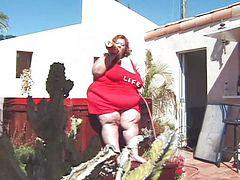 Fat fuck, Fat girl, Redhead fucking, Redhead fuck, Outside fuck, Fuck fat