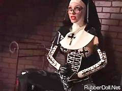 Latex, Nuns l, Latex pov, Dominatrix latex, A nuns, A nun