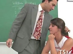 Teacher, Drilled, Teacher schoolgirl, Schoolgirl teacher, School teacher, Schoolgirl