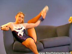 Flexible, Flexible gymnast, Zanna, You for, Flexiblöe, Erotic blondes