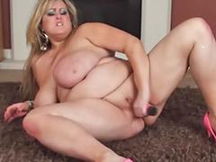 Big tits, Bbw solo, Fat, Boy, High heels
