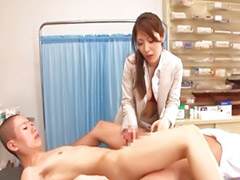 Japaneses threesome, Blowjob japaneses