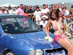 Washing wash, Wash car, Public big t, Girls wash, Girl boobs, Big boobs girls