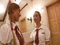 Morgan, Morgan moon, Hot threesome, Threesome hot, Schoolgirl threesome, Morgan l