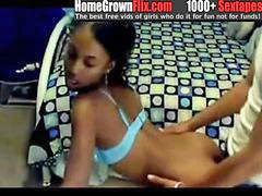 Teen, Swallow, Home, Cam
