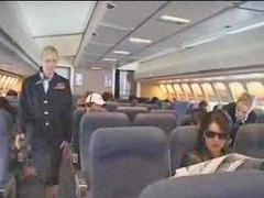 Handjob, Stewardess, American