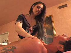Massage, Girl anal