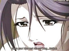Anime, Anim, Animation, Údržbář, Suck milf, Mödr