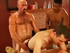 Pee, Peeing, Anal fisting, Hard anal, Gay cream pie, Bareback group