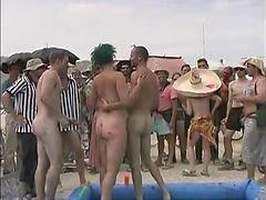 Wrestling, Naked