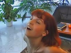 Rim job, Redhead blowjob, Lingerie anal, Redhead, anal, Redhead sex, Redhead blowjobs