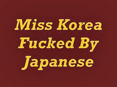 Korea, Japanese, Miss