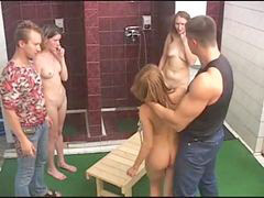 Russian, Girls, House, Bath, Girl, Punish