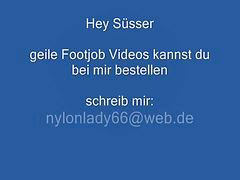 Feet, Heels, Nylon feet, German mature, Nylon, Compilation