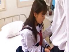 Japanes school girl, Jap school
