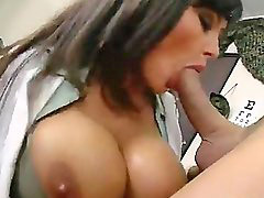 Lisa ann, Huge tits, Milf, News