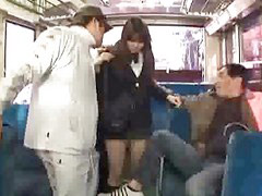 Bus, Schoolgirl gets fucked, Schoolgirl bus, Schoolgirl fuck, In the bus, Fuck in bus