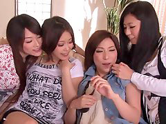 Women by women, Sharing penis, Japanese sharing, Japanese share, Japanese by, Group japanese