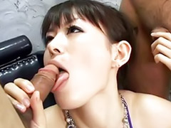Uncensored, Japanese gangbang