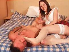 Femdom, Rimming, Vagina, Asian stockings, Femdom asian, Vaginas