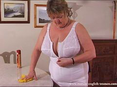 Granny, Mature, Bbw, English