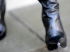 Upskirt boots, Public upskirts, Public exhibitionist, In high heels, In boot, High heel boots