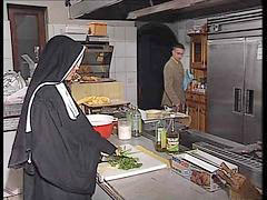 Kitchen, Nuns, German