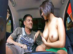 Car, Vanessa, Car fucking, Vanessa leon, Pleasures, Needlis