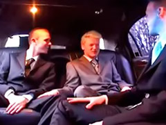 Limo, Gay group, Fucks gay, Fucked gay, Group fuck, Group fucking