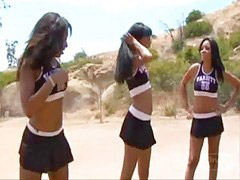 Eboni, Bony, Ebonys, Ebony cute, Eboni cute, A cheerleader