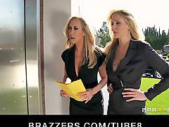 Threesome, Milf, Brandi love, Julia ann, Julia