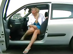 Car masturbation, Shaved solo, Girls blondes, Outdoor solo, Amateur public, Public nude