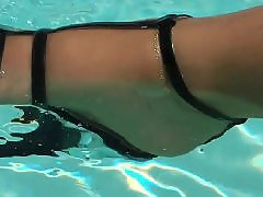 The poole, The bathing, Swimming s, Swimmed, Stockings amateur, Stockings matures