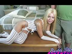 Sex arb, Blonde lingerie, Barbiù, Couple party, Wet party, Party pool