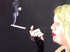 Harper, Glove ,, Black voyeur, Cigarette holder, Voyeur black, Black-brunette