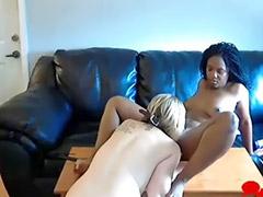 Webcam, Lesbian, Black, Interracial