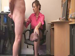 Mistress, Milking, Office, Officer
