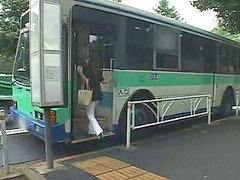 Japan, Big tits, Bus, Bbw japan, Bbw