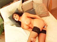 Stockings dildo, Interracial asia, Big dildo, Asian interracial, Interracial stockings, Dildo ass