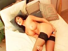 Masturbowanie, pończochy, Big big ass masturbacja