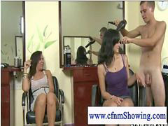 X women, Womens, Women women, Hairdress, A women, Cfnm jerk