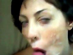 Facial hardcore, Hardcore facial, Amateur