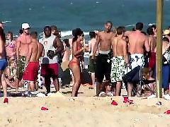 Девочка позирует, Позирует, На пляже, Любительское девочка подросток