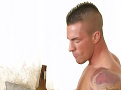 Hot muscular, Anal tattoo, Tattooed brunette, Tattoo gay, Tattoo brunettes, Tattoo masturbation