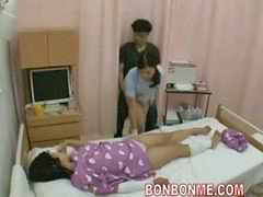 Handjob, Wife, Nurse