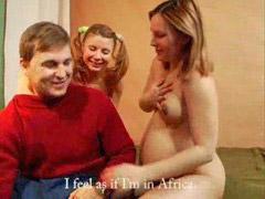 Pregnant, Threesome