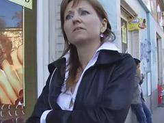Czech, Mature, Street, Public