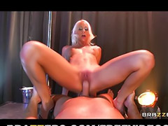 Her pov, On stage, Stripper, Strippers, Big tits squirt, Sex on stage