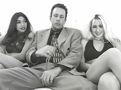 Tacones culos, Trio masturbandose, Trio con culonas, Sexo anal con culonas, Masturbandose con sexo, Mamadas con semen