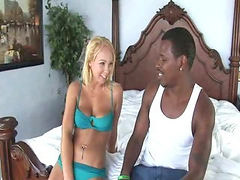 Interracial, Lingerie, Linger, Interracial blonde, Blonde lingerie, Ωριμη lingerie